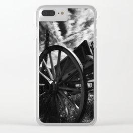 Bodie California wagon Clear iPhone Case