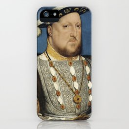 Portrait of Henry VIII of England iPhone Case