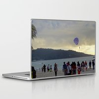 thailand Laptop & iPad Skins featuring Thailand Sunset by ENGINEMAN - JOSEPHAMT