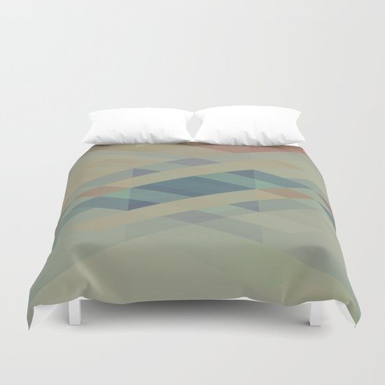 The Clearest Line Duvet Cover