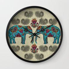 Elephant Muladhara Wall Clock