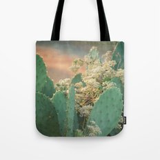Cactus and Vine -- Scenic Botanical Tote Bag