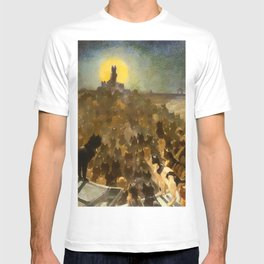 "Théophile Steinlen ""The Apotheosis of the Cats"" T-shirt"