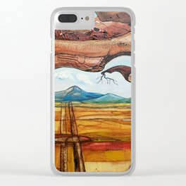 MI VIEJO AMIGO Clear iPhone Case