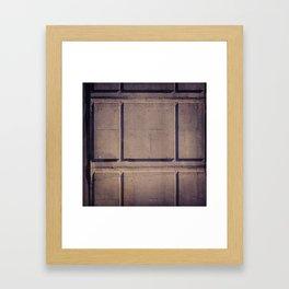 CONCRETE MTL Framed Art Print