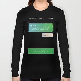 teleport dream - Paris Long Sleeve T-shirt