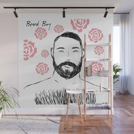 Beard Boy: Pedro Roses Wall Mural