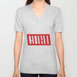H!GH Contrast Unisex V-Neck