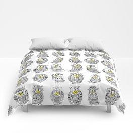 Sleepy Owls Comforters