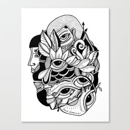 Lucid Dreaming Canvas Print