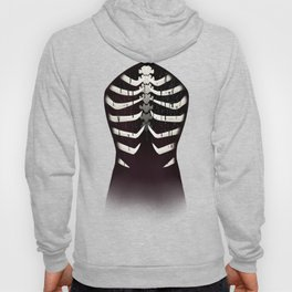 monstrous: open chest Hoody