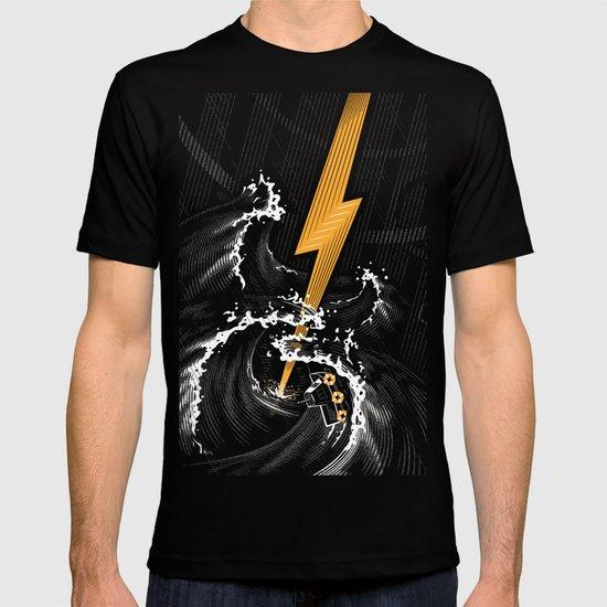 Electric Guitar Storm T-shirt