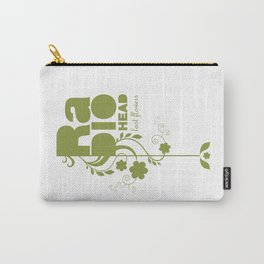 """Radiohead """"Last flowers"""" Song / Green version Carry-All Pouch"""