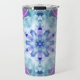 Royal Blue and Purple Mandala Travel Mug