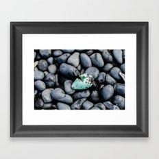 Cracked Egg Framed Art Print