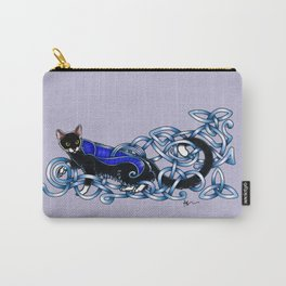 Celtic Cat Carry-All Pouch