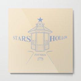 Stars Hollow Metal Print