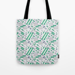 Murder pattern Green Tote Bag