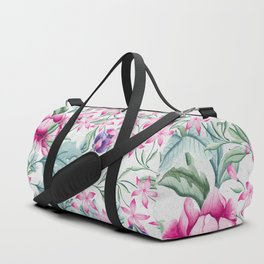 Floral Pattern 3 Duffle Bag