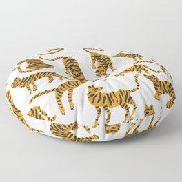 Tiger Collection – Orange Palette Floor Pillow