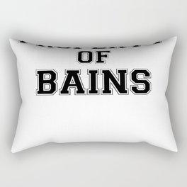 Property of BAINS Rectangular Pillow