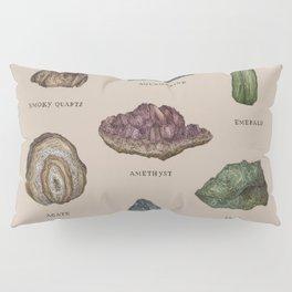 Gems and Minerals Pillow Sham