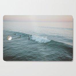 Let's Surf V Cutting Board