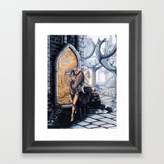 Solas leaves Framed Art Print