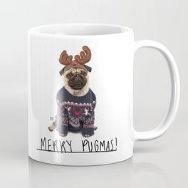 Merry Pugmas 1 Coffee Mug