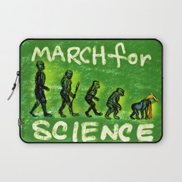 March For Science Laptop Sleeve