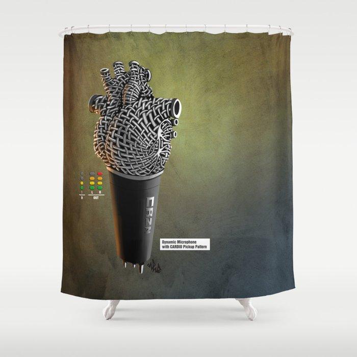 CRZN Dynamic Microphone - 003 Shower Curtain
