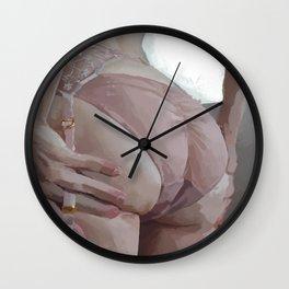 Tushie 17 Wall Clock