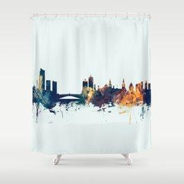 Leeds England Skyline Shower Curtain