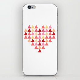 Triangles of Love iPhone Skin