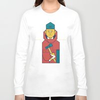 fargo Long Sleeve T-shirts featuring Fargo by Ale Giorgini