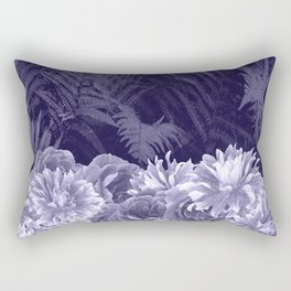 Dark Shades Of Lavender Rectangular Pillow