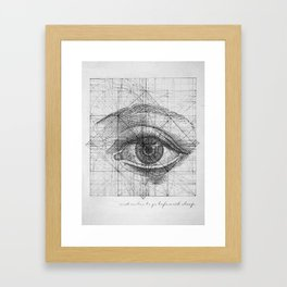 Tabula Rasa Framed Art Print