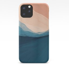 Golden Peaks Nature iPhone Case