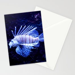 Sea World Lion Fish Stationery Cards