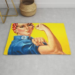 We can do it! Rug
