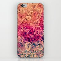 roses iPhone & iPod Skins featuring Roses by Msimioni