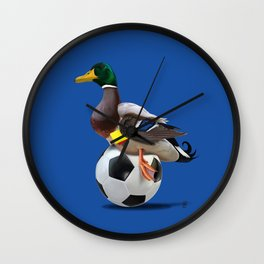 Fowl (Colour) Wall Clock