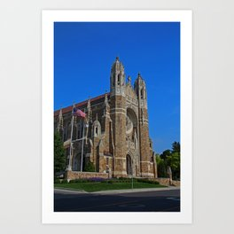 Old West End Our Lady Queen of the Most Holy Rosary Cathedral II- vertical Art Print