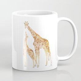 Mother and Baby Giraffes Coffee Mug