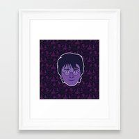 harry Framed Art Prints featuring Harry by Kuki