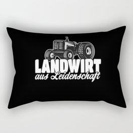 Landwirt aus Leidenschaft Rectangular Pillow