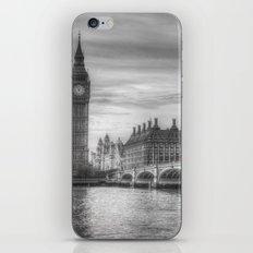Westminster Bridge and Big Ben iPhone & iPod Skin