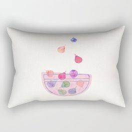 Magic Pears in the Bowl Rectangular Pillow