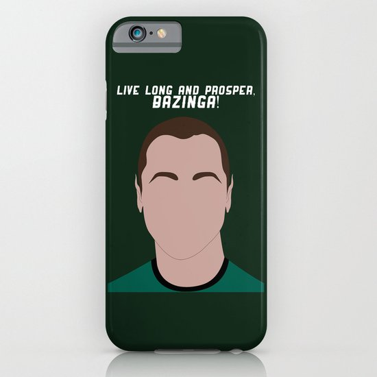 Live Long and Prosper, Bazinga! iPhone & iPod Case