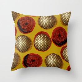 YELLOW & GOLD Throw Pillow